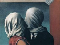 Magritte: The lovers (1928)
