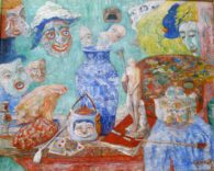 James Ensor- Still life with masks-1896. Hamburg Kunstalle. Per a Rilke 2