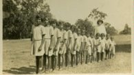 Nens del camp Kahlin el 1920. Fotografia de Peter Spillett Collection - Northern Territory Library